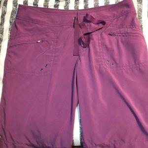 Athleta board shorts purple EUC Medium